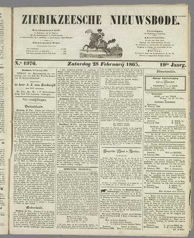 Zierikzeesche Nieuwsbode 1863-02-28