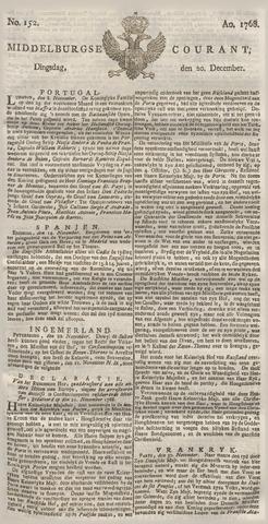 Middelburgsche Courant 1768-12-20