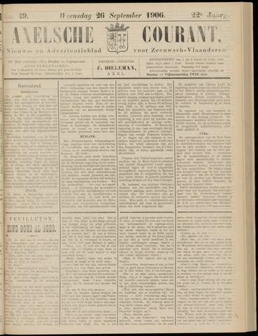 Axelsche Courant 1906-09-26