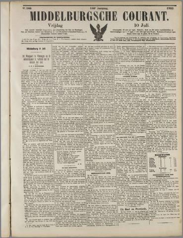 Middelburgsche Courant 1903-07-10