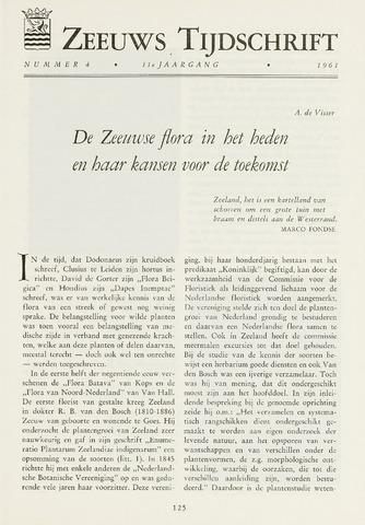 Zeeuws Tijdschrift 1961-07-01