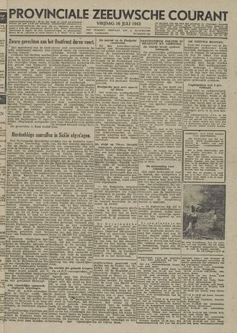 Provinciale Zeeuwse Courant 1943-07-16