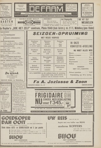 de Faam en de Faam/de Vlissinger 1962-07-13