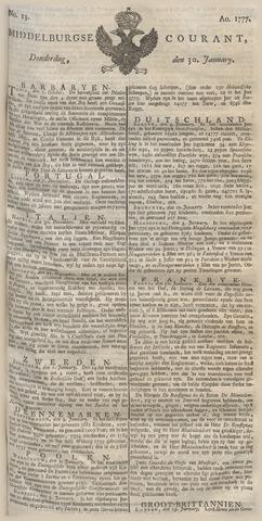 Middelburgsche Courant 1777-01-30
