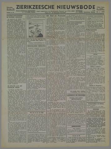 Zierikzeesche Nieuwsbode 1944-01-22