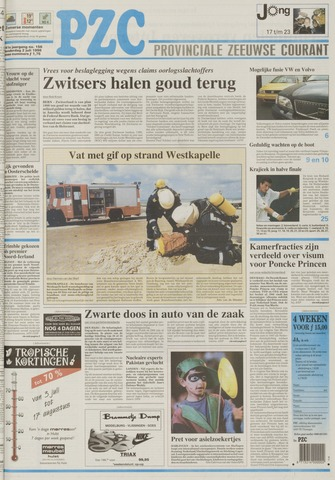 Provinciale Zeeuwse Courant 1998-07-02