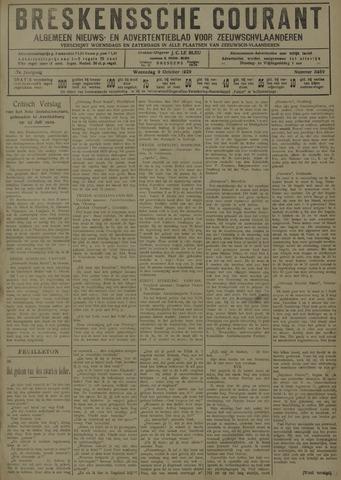 Breskensche Courant 1929-10-09