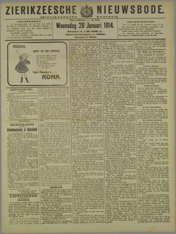 Zierikzeesche Nieuwsbode 1914-01-28