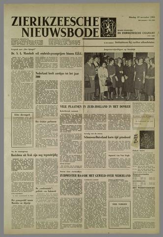 Zierikzeesche Nieuwsbode 1963-11-19