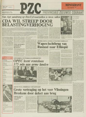 Provinciale Zeeuwse Courant 1977-08-05