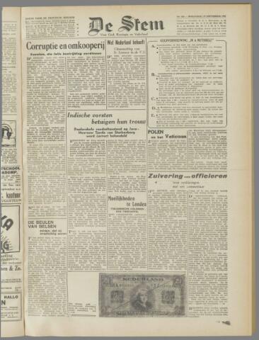 de Stem 1945-09-19