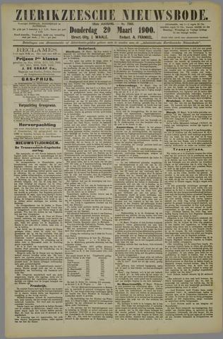 Zierikzeesche Nieuwsbode 1900-03-29