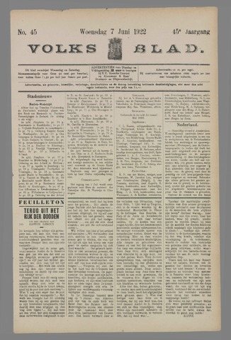 Volksblad 1922-06-07