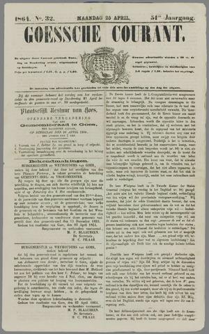Goessche Courant 1864-04-25