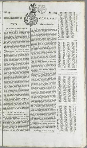 Zierikzeesche Courant 1824-09-14
