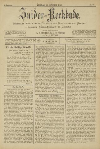 Zuider Kerkbode, Weekblad gewijd aan de belangen der gereformeerde kerken in Zeeland, Noord-Brabant en Limburg. 1897-10-22