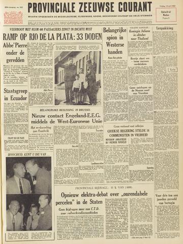 Provinciale Zeeuwse Courant 1963-07-12