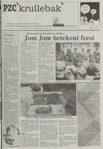 Provinciale Zeeuwse Courant katern Krullenbak (1981-1999) 1997-06-10