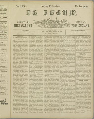De Zeeuw. Christelijk-historisch nieuwsblad voor Zeeland 1901-10-18