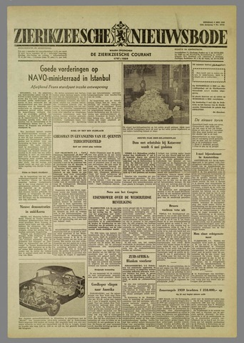 Zierikzeesche Nieuwsbode 1960-05-03