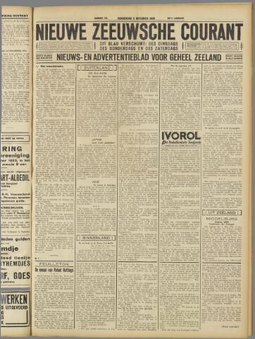 Nieuwe Zeeuwsche Courant 1933-11-02