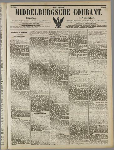 Middelburgsche Courant 1903-11-03