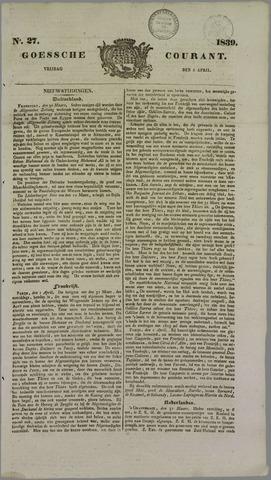 Goessche Courant 1839-04-05