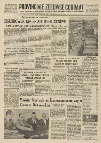 Provinciale Zeeuwse Courant 1959-07-22