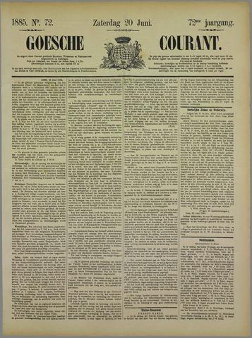 Goessche Courant 1885-06-20