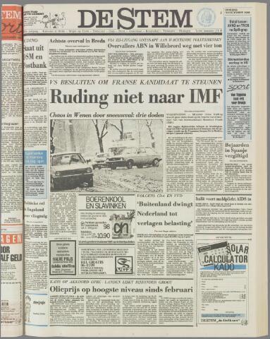 de Stem 1986-12-16