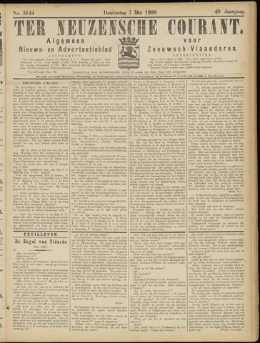 Ter Neuzensche Courant. Algemeen Nieuws- en Advertentieblad voor Zeeuwsch-Vlaanderen / Neuzensche Courant ... (idem) / (Algemeen) nieuws en advertentieblad voor Zeeuwsch-Vlaanderen 1908-05-07