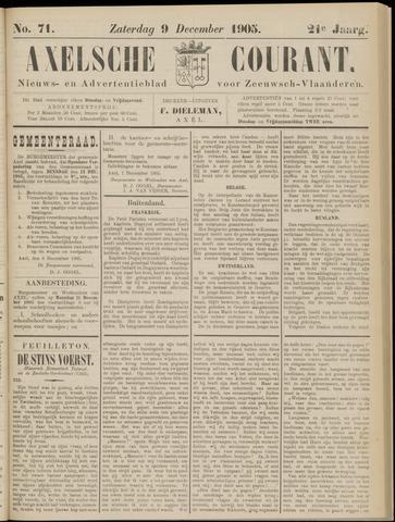 Axelsche Courant 1905-12-09