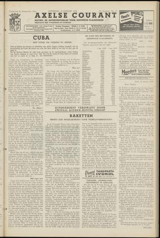 Axelsche Courant 1959-01-10