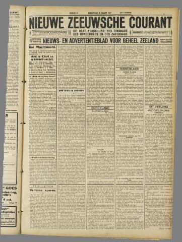 Nieuwe Zeeuwsche Courant 1927-03-31