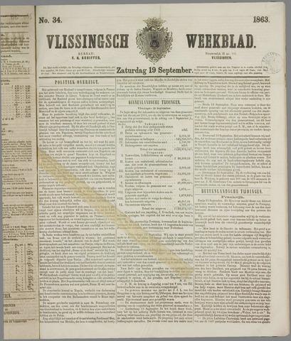 Vlissings Weekblad 1863-09-19