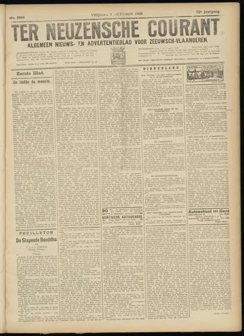 Ter Neuzensche Courant. Algemeen Nieuws- en Advertentieblad voor Zeeuwsch-Vlaanderen / Neuzensche Courant ... (idem) / (Algemeen) nieuws en advertentieblad voor Zeeuwsch-Vlaanderen 1932-10-07