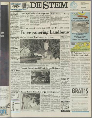 de Stem 1992-07-31