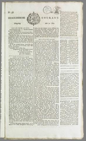 Zierikzeesche Courant 1824-05-11