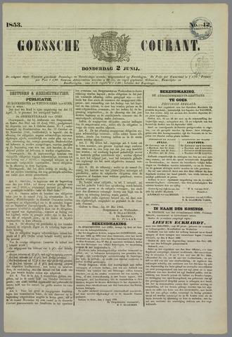 Goessche Courant 1853-06-02