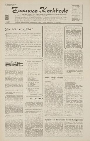 Zeeuwsche kerkbode, weekblad gewijd aan de belangen der gereformeerde kerken/ Zeeuwsch kerkblad 1968-01-11