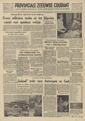 Provinciale Zeeuwse Courant 1958-10-15
