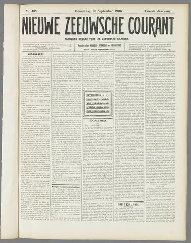 Nieuwe Zeeuwsche Courant 1906-09-13