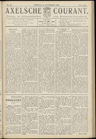 Axelsche Courant 1939-11-21