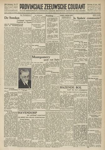 Provinciale Zeeuwse Courant 1947-01-25