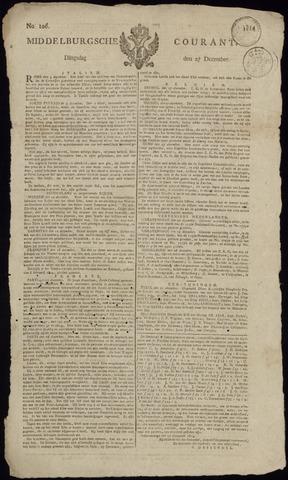 Middelburgsche Courant 1814-12-27