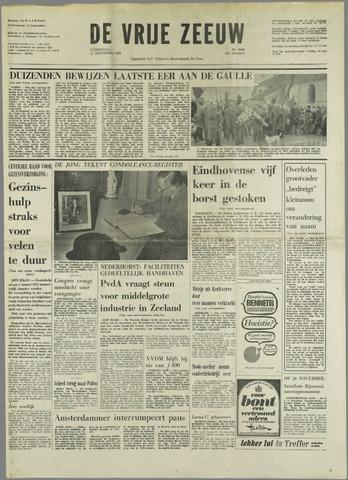 de Vrije Zeeuw 1970-11-12