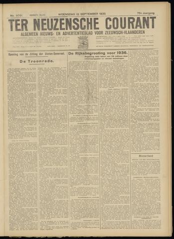 Ter Neuzensche Courant. Algemeen Nieuws- en Advertentieblad voor Zeeuwsch-Vlaanderen / Neuzensche Courant ... (idem) / (Algemeen) nieuws en advertentieblad voor Zeeuwsch-Vlaanderen 1935-09-18
