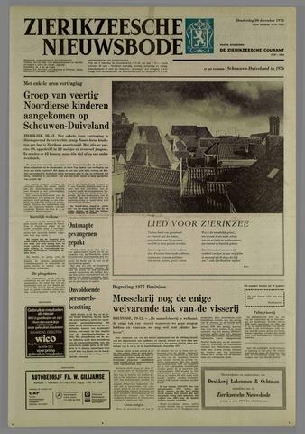Zierikzeesche Nieuwsbode 1976-12-30