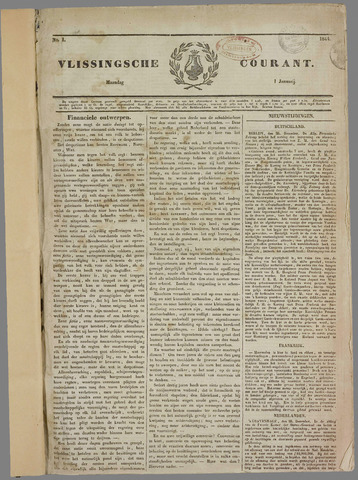 Vlissingse Courant 1844