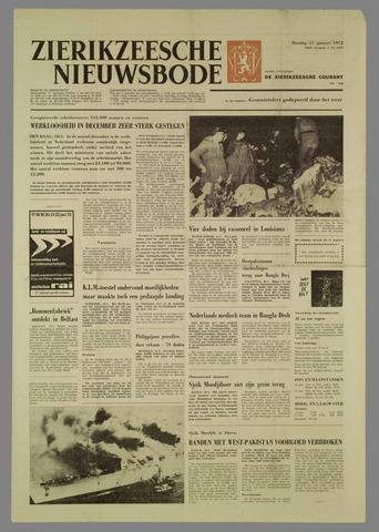 Zierikzeesche Nieuwsbode 1972-01-11